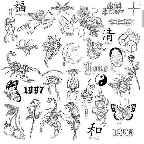back tattoos female Rebellen Tattoo, Diskrete Tattoos, Doodle Tattoo, Body Art Tattoos, Hand Tattoos, Sailor Tattoos, Half Sleeve Tattoos, Female Back Tattoos, Gucci Tattoo