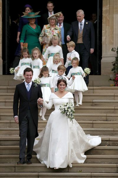 Royal Procession Eugenie Wedding Royal Wedding Dress Royal Brides