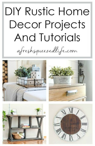 Rustic Diy Home Decor A Fresh Squeezed Life Home Decor Diy Home Decor Home Diy