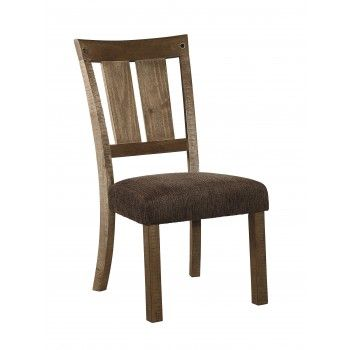 Tamilo - Gray/Brown - Dining UPH Side Chair (2/CN) furniture