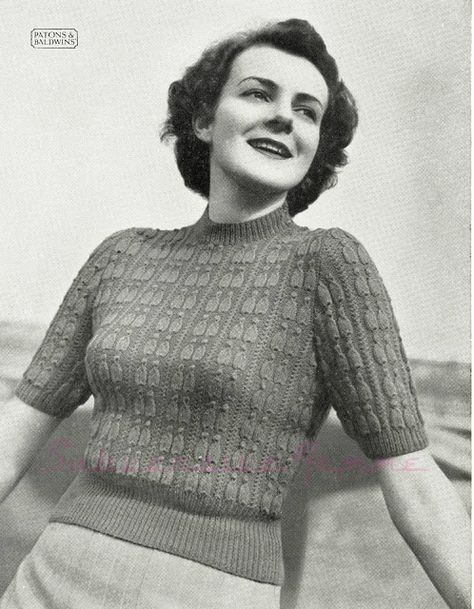 68629eef1d3 Free Pattern  Pagliacci Jumper in two sizes