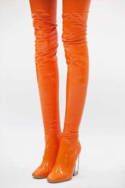 Pin By Ben Springham On Pantone Colors 2021 2022 In 2020 Dior Boots Boots Orange Shoes