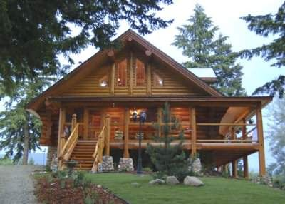 Log Cabins Canada U S Why Are Some North American Log Cabins Different With Images House In The Woods Log Homes Log Cabin Homes
