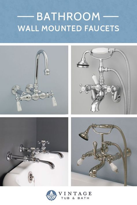 Wall Mount Claw Foot Tub Faucet