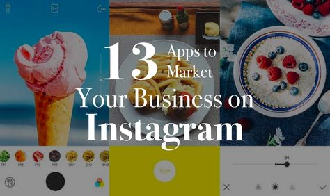 All the best photo editing apps and apps to help you market and manage Instagram for your business. Make your Instagram feed shine!