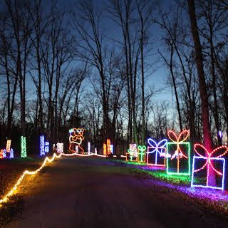 Let There Be Lights Drive Thru Christmas Lights Display Drive Thru Christmas Lights Live Anima Christmas Light Displays Christmas Lights Christmas Display