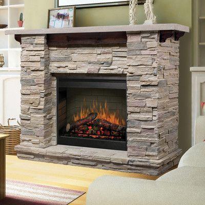 Loon Peak Richardson Electric Fireplace Electric Fireplace