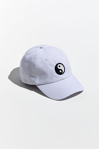 Yin Yang Rubber Patch Baseball Hat In 2021 Baseball Hats Yin Yang Hats