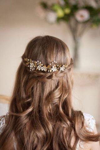 25 Peinados De Primera Comunión Para Niñas De Pelo Largo Peinados Primera Comunion Peinados Peinados De Comunion Niña