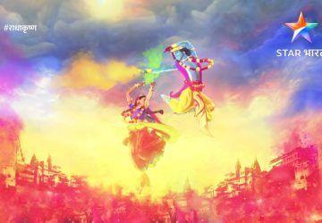 Radha Krishna Star Bharat Serial Hd Wallpapers 1080p Hindu Gods And Goddesses Holi Images Radha Krishna Holi Holi Wishes