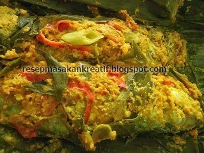 Resep Pepes Ikan Kembung Kemangi Bumbu Kuning Resep Seafood Resep Ikan Resep Masakan Malaysia