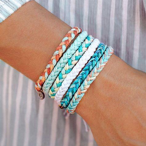 """""""The Rose Gold Rush Pack"""" by Aspyn Ovard - Pura Vida Bracelets Yarn Bracelets, Diy Bracelets Easy, Pura Vida Bracelets, Summer Bracelets, Bracelet Crafts, Braided Bracelets, Ankle Bracelets, Handmade Bracelets, Gold Bracelets"""