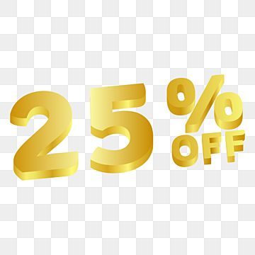 25 Off Discount Sale Golden Gradient Sale 50 70 Png And Vector With Transparent Background For Free Download Discount Logo Discount Banner Sale Banner