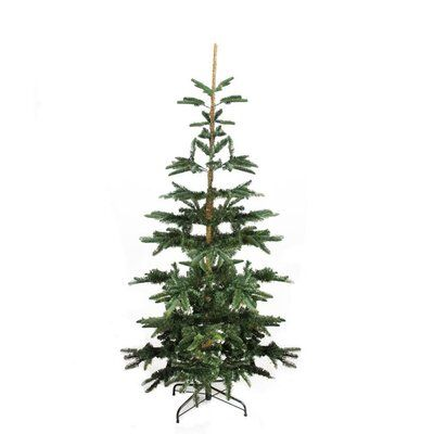 The Holiday Aisle Layered Noble 6 5 Green Pine Artificial Christmas Tree Wayfair Artificial Christmas Tree Noble Fir Christmas Tree Fir Christmas Tree