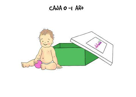 Para los más pequeñitos, desde el nacimiento hasta los doce meses: didiBOX 0-1