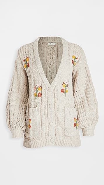 Amaryllis Button Down Cardigan in 2020 | For love and lemons