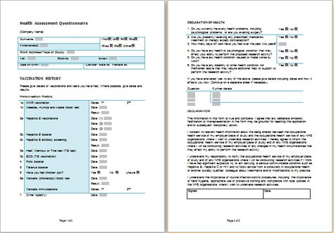 Health Assessment Form at http\/\/wwwbestmedicalforms\/health - consumer complaint form