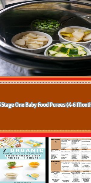 Stage 1 2 And 3 Homemade Baby Food Recipes And Step By Step Guide Starting Stage 1 Solids Is So Excit Baby Food Recipes Pureed Food Recipes Homemade Baby Food