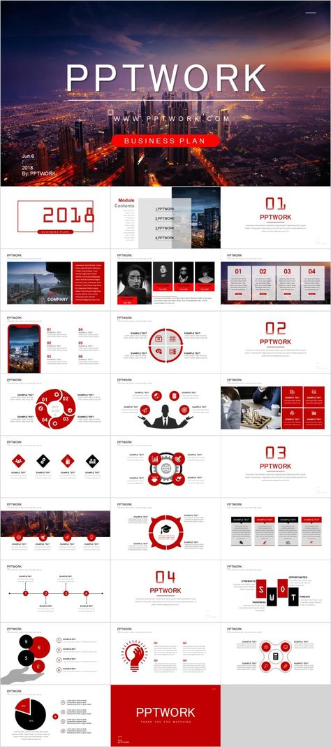 27+ Best Business Summary PowerPoint template Infographie - Summary Report Template