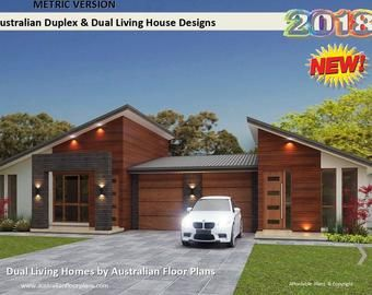 Small Houses Granny Flats Home Design Book Australian And International Home Plans In 2020 Affordable House Plans Duplex House Plans Duplex Design