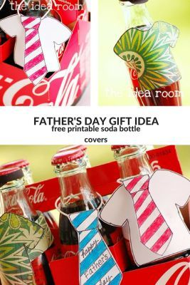 Fathers Day Gift- Soda Bottle Covers | Handmade Gifts Ideas