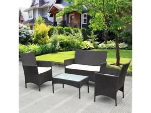 rattan patio furniture garden patio