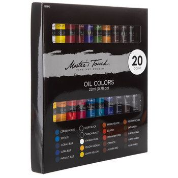 Oil Colors 20 Piece Set Hobby Lobby 280842 Oils Painting Supplies Oil Painting