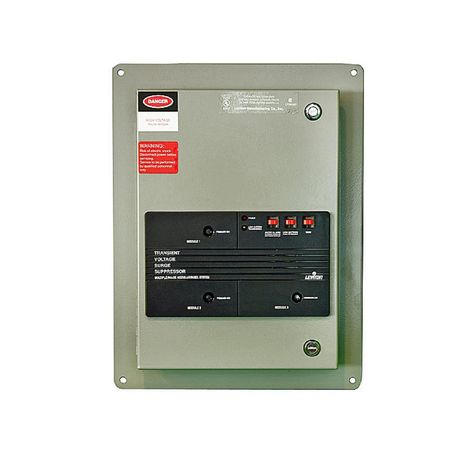 Leviton 240 Volt 3 Phase Delta Surge Panel With Replaceable Surge Modules In Gray 52240 Dm3 Gadget World Latest Gadgets Ac System