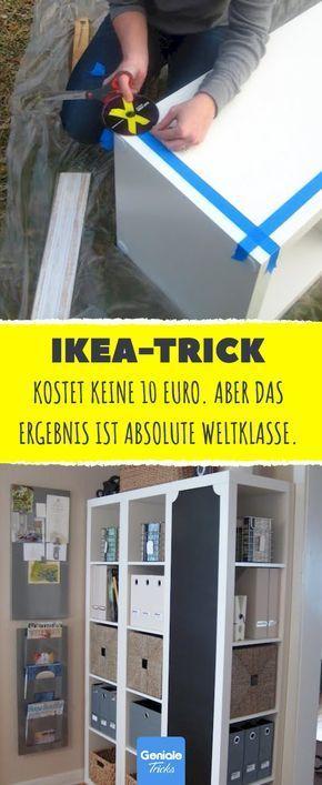 Dieser Ikea Trick Kostet Keine 10 Euro Aber Das Ergebnis Ist Absolute Weltklass 2019 Ikea Ikea Shelves Bedroom Storage Ideas For Clothes