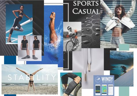Ashleigh Clarke (c)  Sports/Casual MoodBoard Sustainable Crowdfunding Fashion