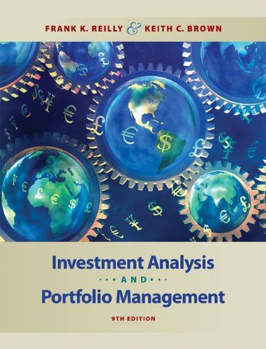 Investment Analysis and Portfolio Management (with Thomson ONE - investment analysis