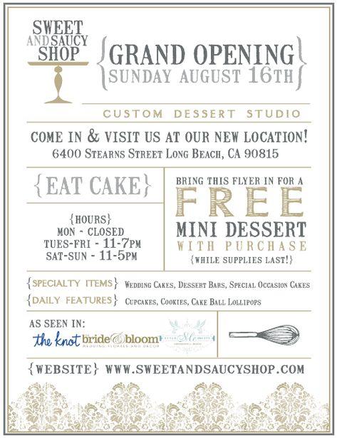 11 grand opening invitations ideas