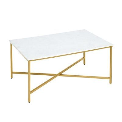 Victoria Marble Gold Rectangle Coffee Table Coffee Table Rectangle Coffee Table Marble Top Coffee Table Gold rectangle coffee table