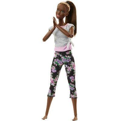 Barbie Made To Move Yoga Nikki Doll Em 2020 Barbie Fashionista Bonecas Barbie Coisas De Barbie