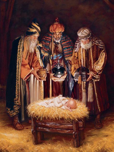 Wise men still seek him. Jesus Christ is born!