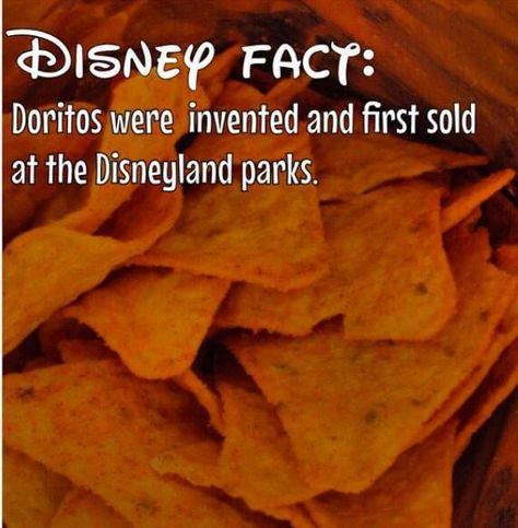 A fact of the day for all you Disney Foodies. #DoritosDisney