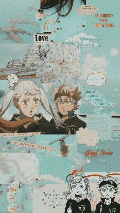 Black Clover Asta And Noelle Anime Wallpaper Black Clover Anime Black Clover Manga