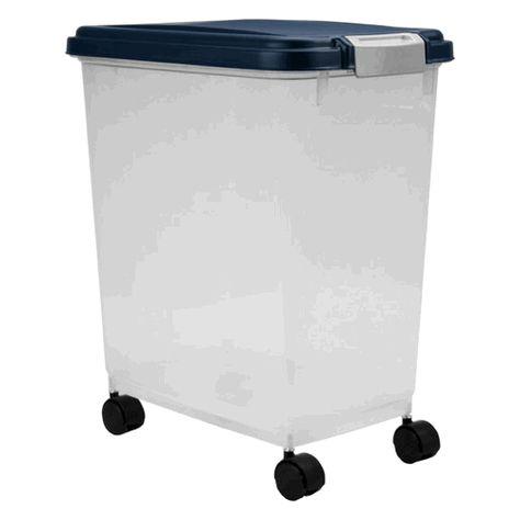 Pet Food Container On Wheels Pet Food Storage Dog Food Storage