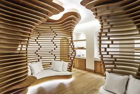 Your journey of #relaxation at Six Senses Spa Marbella starts in our beautiful and locally inspired pre-treatment waiting area.