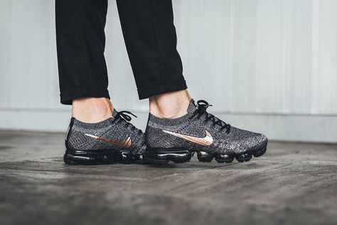 2717ef077b66 Nike wmns air vapormax flyknit explorer dark men s running shoes grey black  gold at JUstores