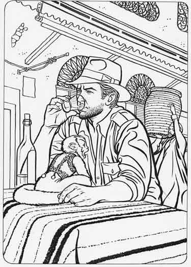 Indiana Jones Temporarily Drinks His Problems Away Like A Real Hero Star Coloring Pages Coloring Pages Lego Coloring Pages