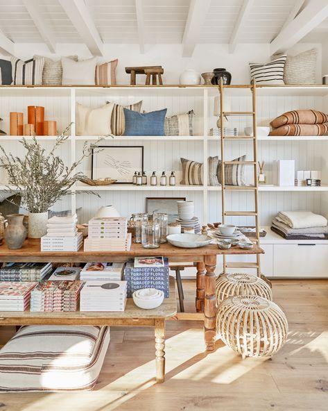 shoppe amber interiors, pacific palisades, ca Retail Store Design, Small Store Design, Le Shop, Store Interiors, Retail Interior, Home Decor Shops, Shop Interior Design, Stores, Showroom
