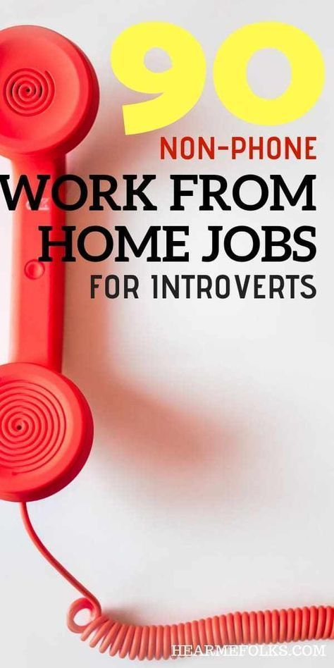 90+ Non-Phone Work from Home jobs You Can Apply Today