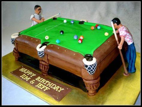 Pool Table Birthday Cake For Kids   Pool Table Accessories   Pinterest   Pool  Table, Kids Pool Table And Pool Table Accessories
