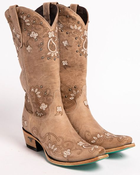 Cowgirl Boots - How To Construct An Outstanding Shoe Wardrobe Dance Boots, Rain Boots, Shoe Boots, Cute Cowgirl Boots, Wedding Cowgirl Boots, Gypsy Cowgirl, Country Wedding Boots, Womens Cowgirl Boots, Boots Women