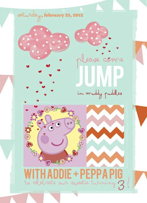 fabulous Peppa Pig party: The Invite