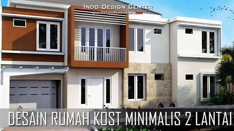 kue lebaran: desain rumah kost minimalis 2 lantai dan biaya