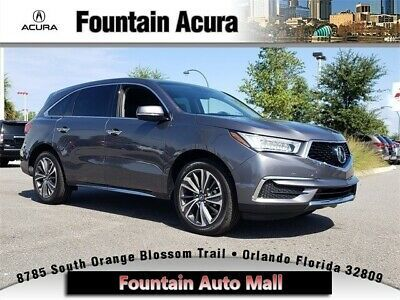 2020 Acura Mdx With Technology Package 2020 Acura Mdx With