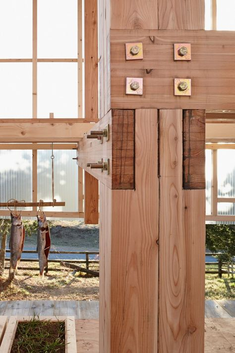 Nest We Grow / College of Environmental Design & Kengo Kuma & Associates - AA13