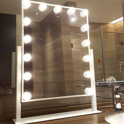 Advertisement Large 15 Led Bulb Hollywood Vanity Makeup Mirror
